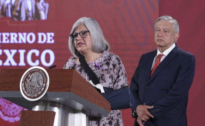 Graciela Márquez, secretaria de Economía. (Notimex)