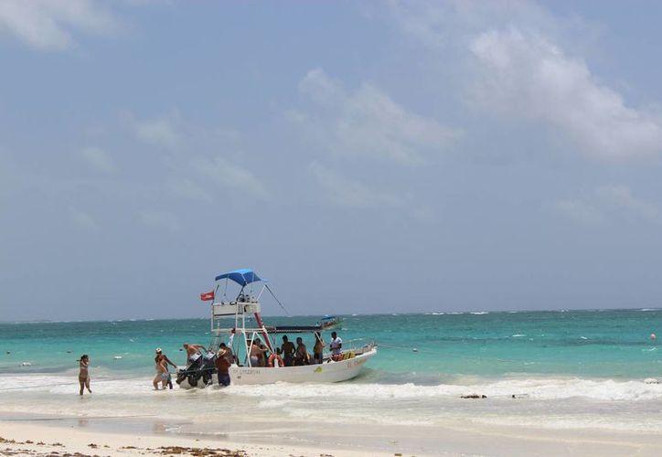 El turismo que llega viene con escaso presupuesto. (Sara Cauich/ SIPSE)