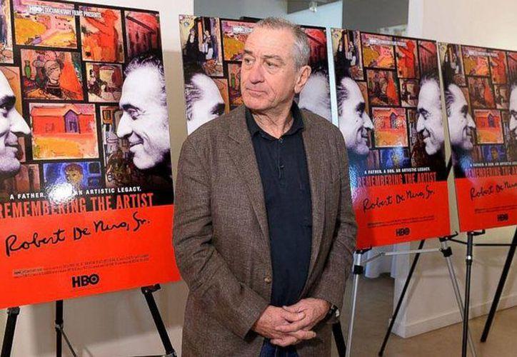 """Para el actor Robert De Niro, hacer un documental sobre su padre era una """"responsabilidad, casi una obligación"""". (enfilme.com)"""