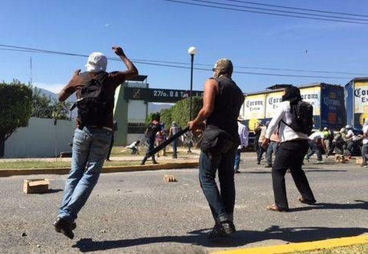 Hasta el momento prevalece la tensión en la zona del periférico del municipio de Iguala de la Independencia. (Milenio)