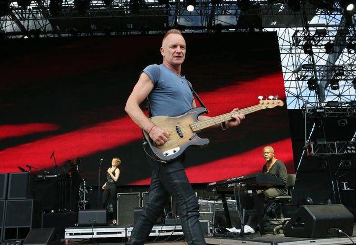 Sting va por su segunda asunción porque ya es miembro del Salón de la Fama del Rock como integrante de The Police. (AP)