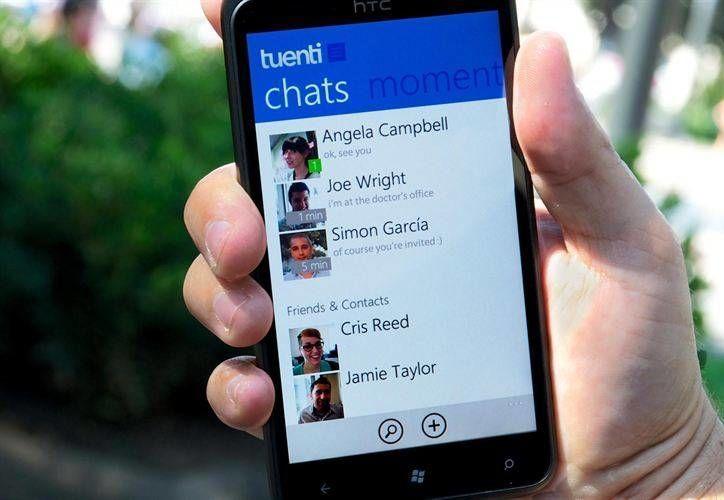 La aplicación permite chatear y enviar fotografías. (queestuenti.com)