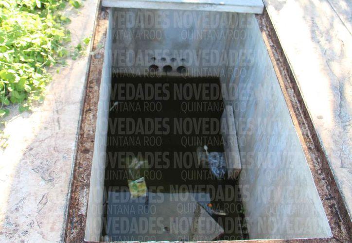 En algunas zonas de la ciudad, el drenaje no funciona al cien por ciento. (Paola Chiomante/SIPSE)