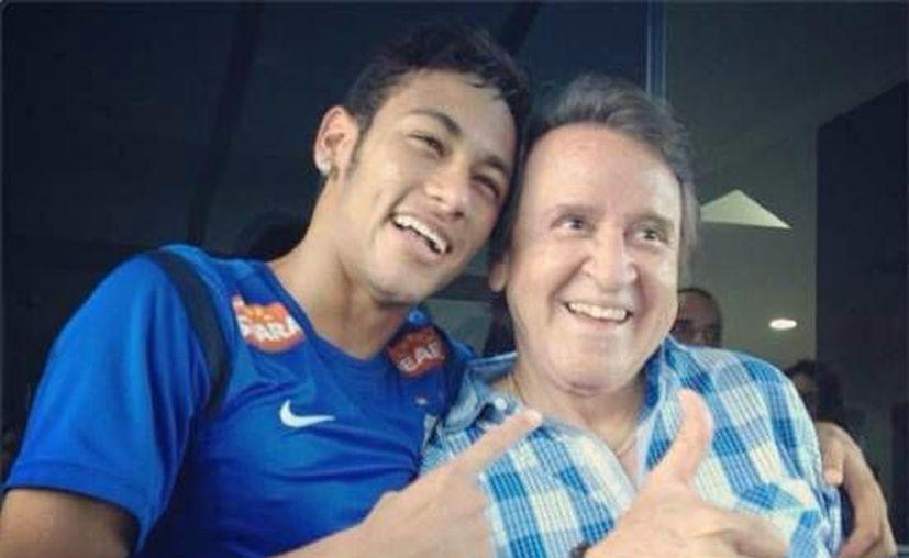 Neymar se disfrazó de Quico en una fiesta de disfraces hace unos días. (Foto: Internet)