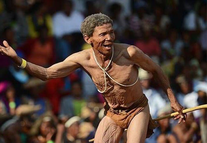 Los joisán del sur de África siempre se han percibido a sí mismos como la gente más vieja. (Archivo/AFP)