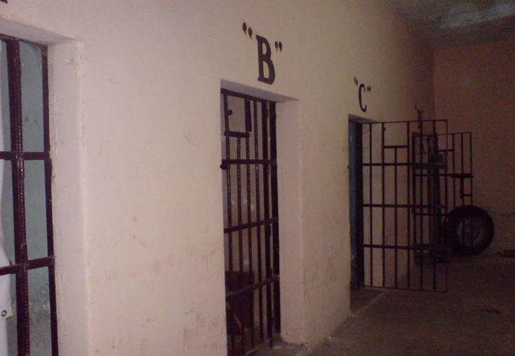 """En la celda """"B"""" de la cárcel de Tekal de Venegas es donde ocurren los fenómenos paranormales (Jorge Moreno/SIPSE)"""