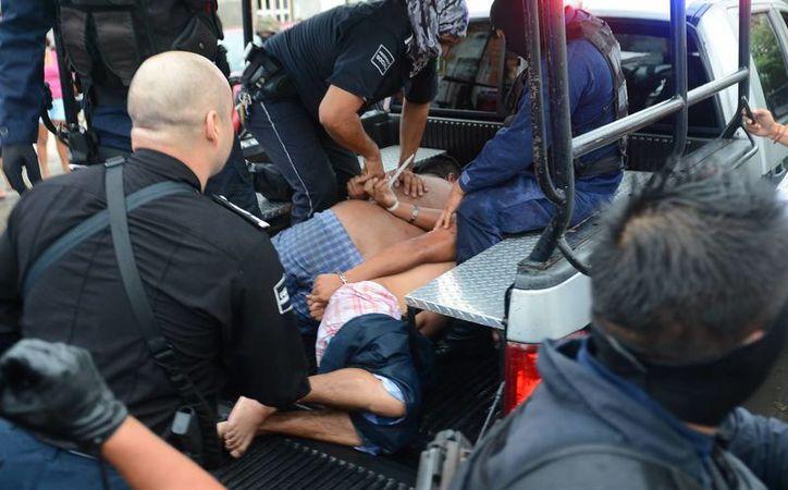 Seguridad Pública Municipal asegura que se mantiene alerta para salvaguardar a los isleños y detener a los delincuentes. (Gustavo Villegas/SIPSE)