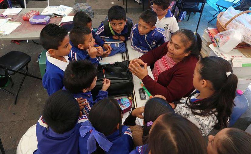 Un estudio indica que más del 30 por ciento de los niños indígenas padecen desnutrición, por lo que el proyecto 'Necesito de ti' buscará reducir la cifra impulsando proyectos innovadores. (Imagen referencial/Archivo/Notimex)