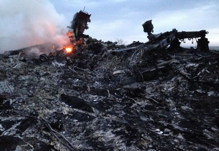 El 'accidente' de este jueves podría ser el segundo ocasionado por rebeldes, que se responsabilizaron del derribo de un avión militar Antonov-26. (Foto: AP)