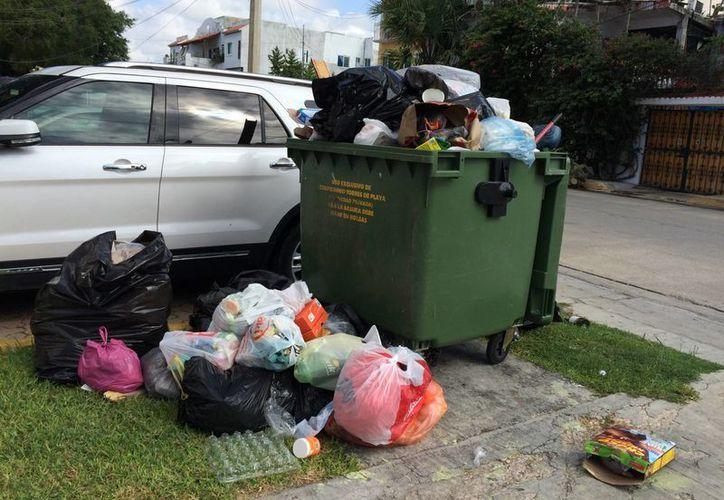 La administración actual de Solidaridad encontró que su antecesora facturó $100 millones para la recolección de basura. (Adrián Barreto/SIPSE)