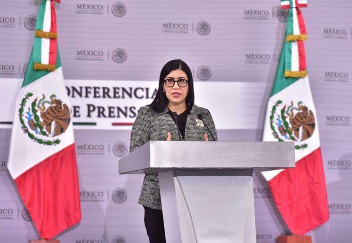 Vanessa Rubio Márquez, subsecretaria de la SHCP, informó sobre los avances del Acuerdo para el Fortalecimiento Económico y la Protección de la Economía Nacional en materia del Ahorro para el Retiro. (Cortesía)
