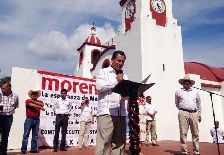 Imagen de Lorenzo Lavariega Arista, precandidato de Morena a diputado federal por el distrito 10 con sede en Miahuatlán, Oaxaca. (Facebook Lorenzo Lavariega Arista)