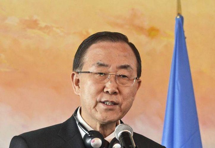El secretario general de la Organización de Naciones Unidas (ONU), Ban Ki-moon. (Archivo/EFE)