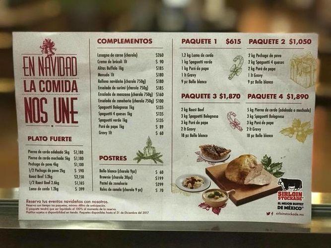 Restaurantes que ofrecen cenas de navidad en canc n - Menu de cenas navidenas ...