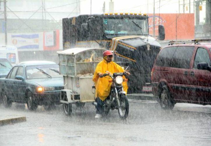 La extraña 'temporada' de lluvias continuará todavía por varios días más en Yucatán. (SIPSE/Foto de contexto)