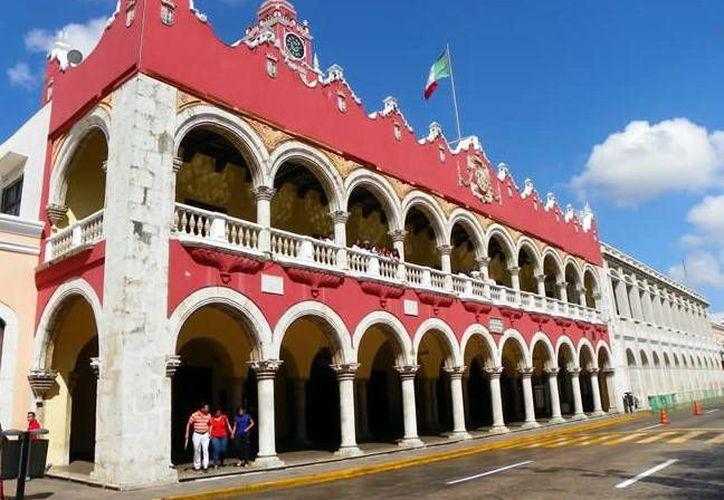 El alcalde de Mérida, Renán Barrera, rendirá su informe este mes. (Milenio Novedades)