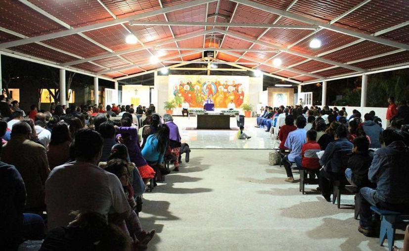 Se dieron a conocer las actividades del Papa en Chiapas. (Luis Soto/SIPSE)
