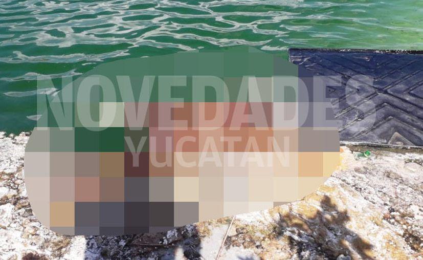 Un cadáver fue encontrado flotando este miércoles en una aguada de Umán. (Novedades Yucatán)