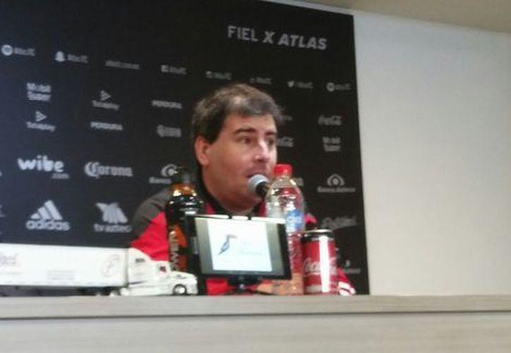 Fabricio Bassa fue presentado como nuevo Director Deportivo. (Alberto Ávalos/Milenio)