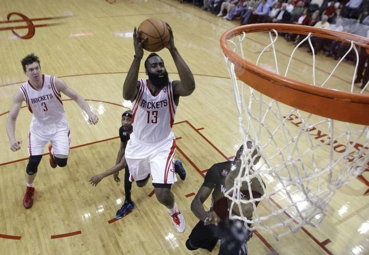 En noviembre de este año se realizará el partido entre Rockets de Houston y Timberwolves de Minnesota en México, según la NBA. (AP)