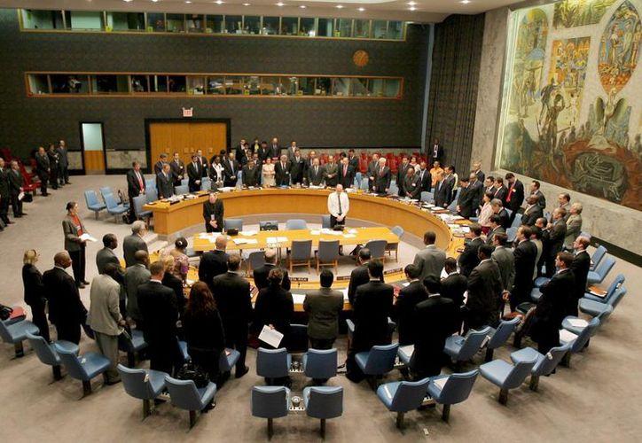 El Consejo de Seguridad de la ONU durante una reunión. (Archivo/EFE)