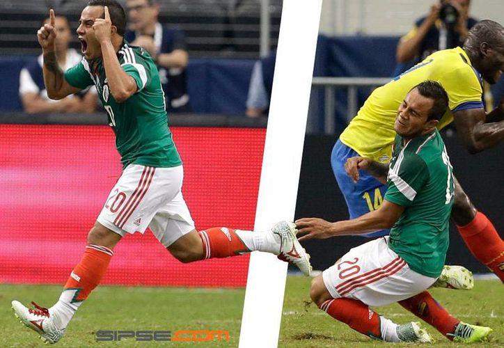 Contrastes: Luis Montes anotó un golazo al 33; segundos más tarde salía del campo lesionado. (Foto: Especial)