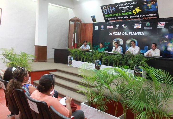 En conferencia de prensa fue presentado el evento. (Cortesía/SIPSE)