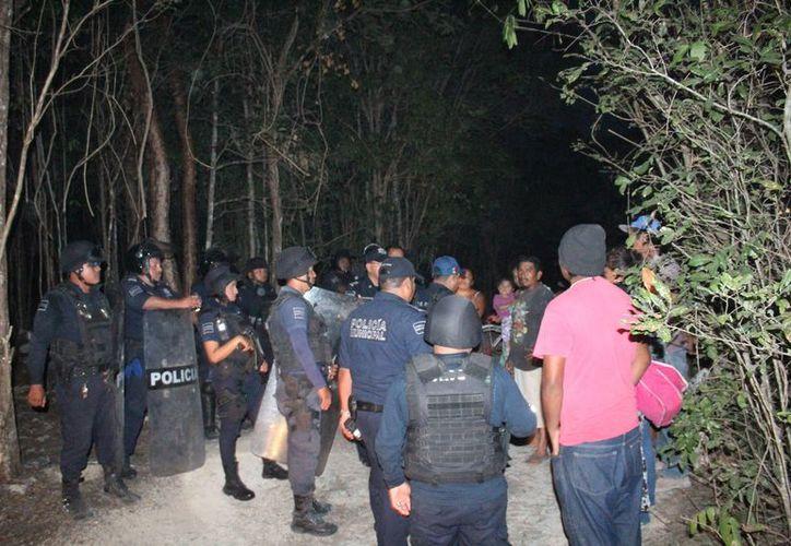 Juan Rodríguez Olvera, director de Seguridad Pública, comentó que seguirán con los rondines cercanos al lugar. (Octavio Martínez/SIPSE).