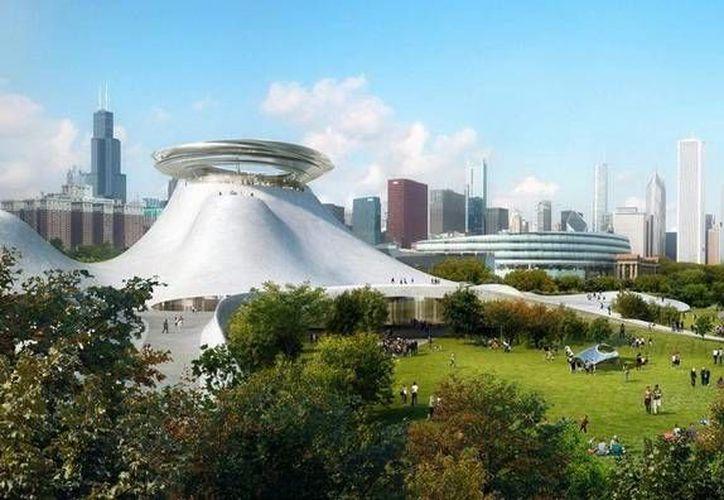 La empresa china MAD Architects participará en la construcción del Museo de la Guerra de las Galaxias. (Foto tomada de  @lucasmuseum)