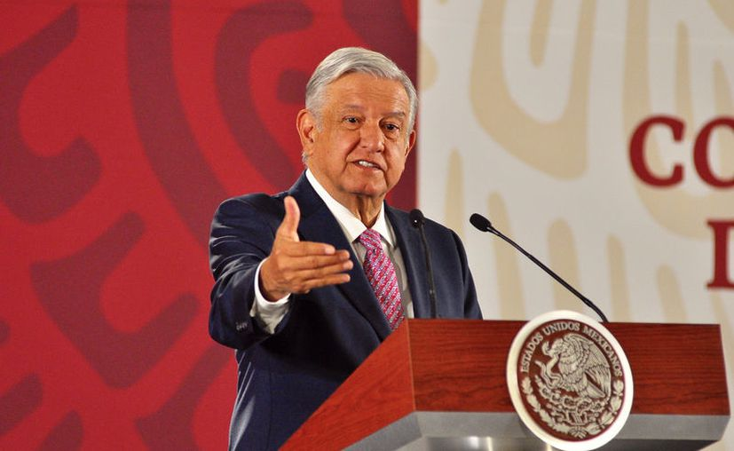 El Mandatario insistió en que su Administración no solo implica un cambio de gobierno, sino también de régimen. (Foto: Notimex/Alejandro Guzmán)