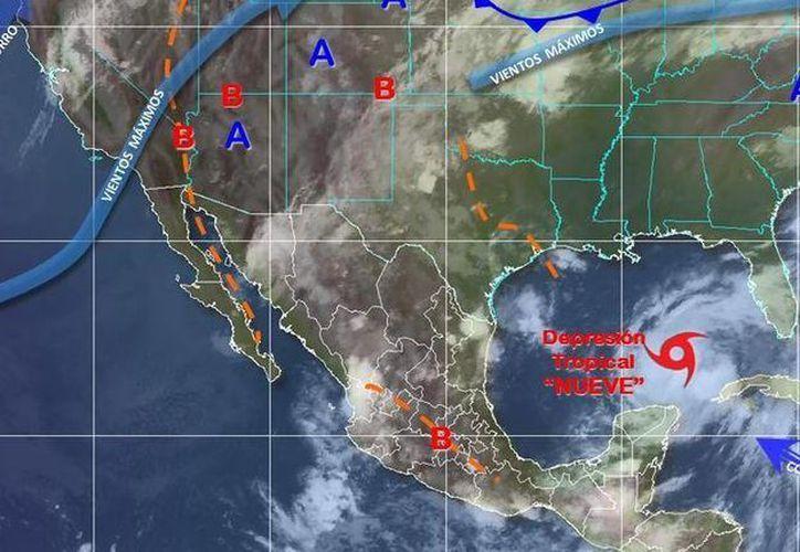 Los vientos serán de 10 kilómetros por hora en Chetumal. (Conagua)