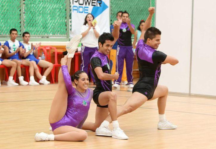 Yucatán será sede por segunda ocasión del Nacional de Gimnasia Aeróbica, en el Polifórum Zamná. (Milenio Novedades)