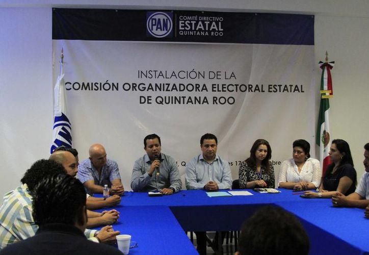 La Comisión Organizadora Electoral Estatal el Partido Acción Nacional (PAN), inició el proceso de selección de candidatos a diputados. (Harold Alcocer/SIPSE)