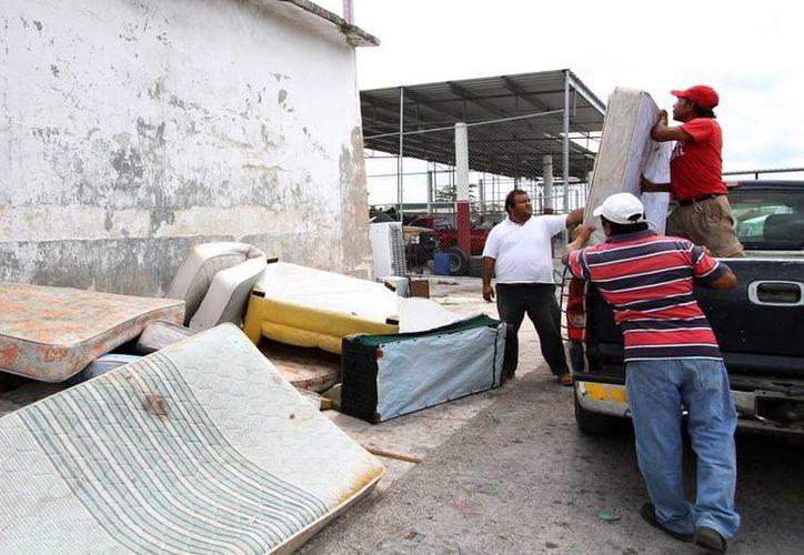 Del 2 al 14 de junio el Ayuntamiento retirará los colchones y bases de cama inservibles.  (Redacción/SIPSE)