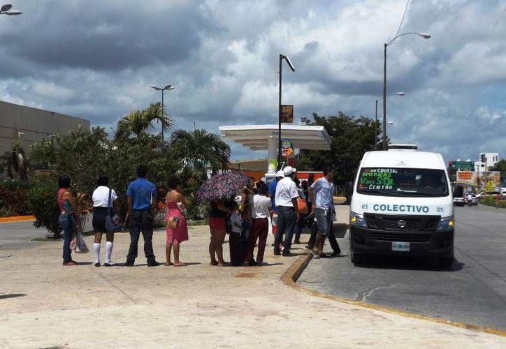 La propuesta es que el punto central de las rutas de transporte urbano sea plaza 'Las Américas'. (Daniel Pacheco/SIPSE)