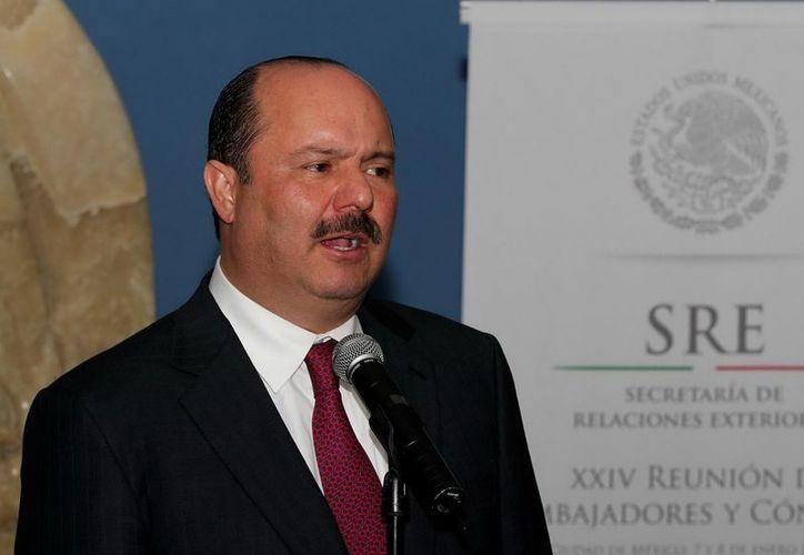 El gobernador de Chihuahua, César Duarte, descartó que la entidad se encuentre en quiebra. (Archivo Notimex)