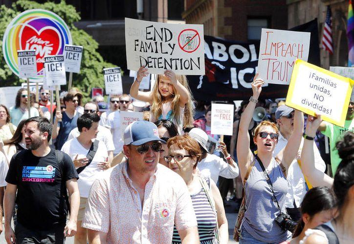 Los neoyorquinos unieron su voz en el día nacional de protestas. (vanguardia.com)