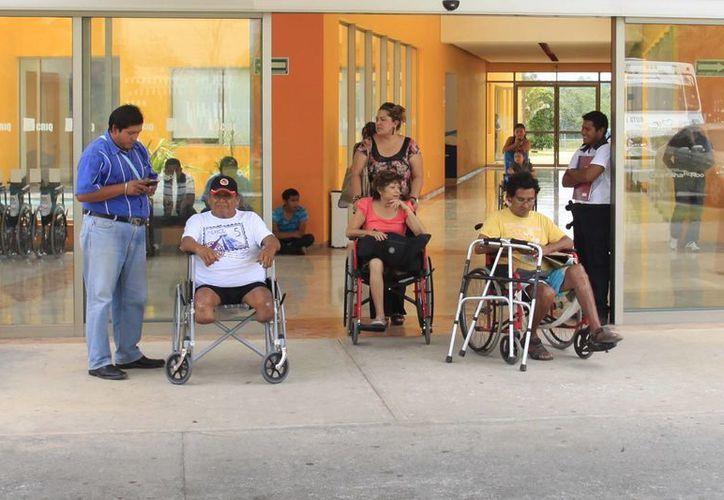 Comentan que entre la sociedad aún existen casos de discriminación hacia las personas con alguna discapacidad. (Paloma Wong/SIPSE)