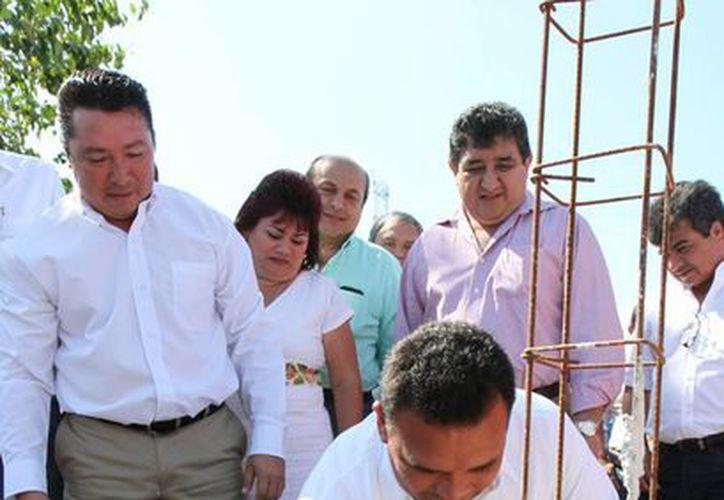Zapata Bello también clausuró el antiguo tiradero a cielo abierto del municipio de Kanasín. (Cortesía)