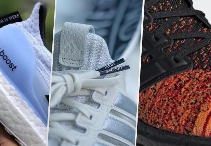 Adidas lanzará una colección de tenis inspirada en la serie Game of Thrones. (Instagram)