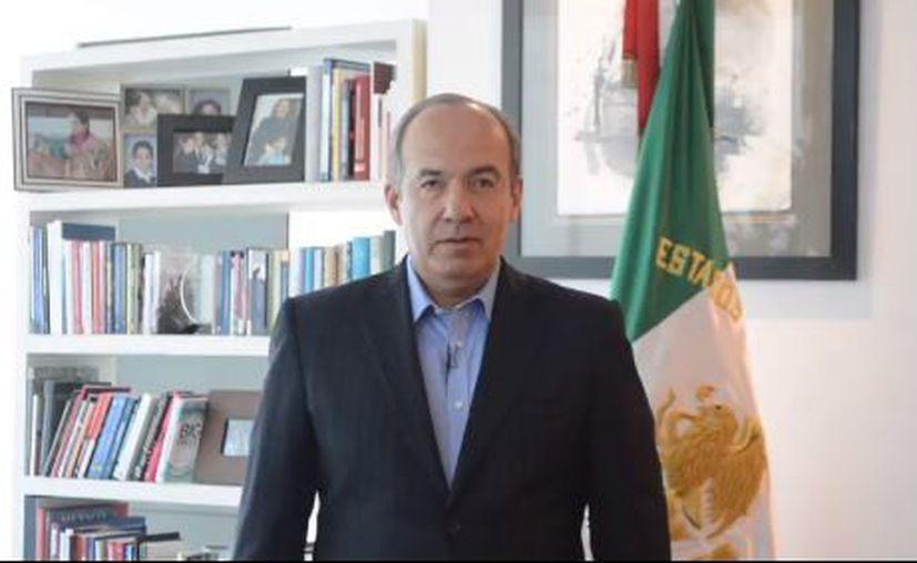 El expresidente de México, Felipe Calderón Hinojosa, negó promover las protestas de la Policía Federal. (Instagram)