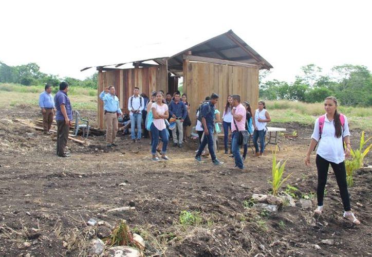 No hubo interés del gobierno para apoyar en la construcción de aulas. (Foto: Carlos Castillo)
