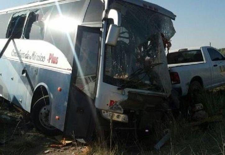 El autobús de pasajeros accidentado venía de Ciudad Juárez, Chihuahua y se dirigía a Guadalajara, Jalisco. (Milenio)