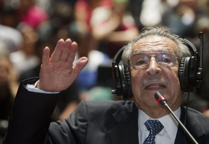 A pesar de su mano dura, Ríos Mont conservó su popularidad entre los guatemaltecos. (Agencias)