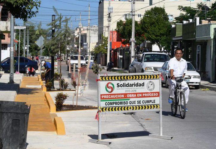 Las obras como la ciclovía y las rampas para personas con discapacidad podrían ser sometidas a consulta ciudadana. (Adrián Barreto/SIPSE)