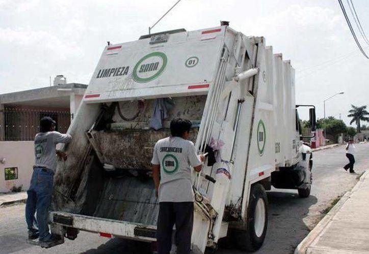 La tarifa de 50 pesos por la recolección de basura se aplica en 10 mil predios. (SIPSE/Foto de archivo)
