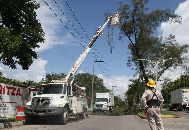 Comisión Federal de Electricidad CFE anunció que el suministro eléctrico se suspenderá por unas horas. (SIPSE)