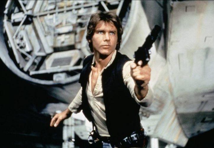 En el borrador de The Star Wars, Han Solo es verde.(extracine.com)