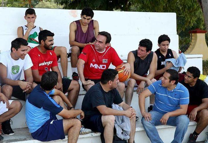 Nerio Torres Arcila convivió con los deportistas. (Milenio Novedades)