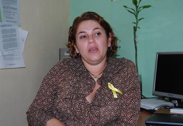 Evelyn Parra Sánchez dijo que habrá conferencias por el Día Mundial de la Lucha contra el Suicidio. (Tomás Álvarez/SIPSE)